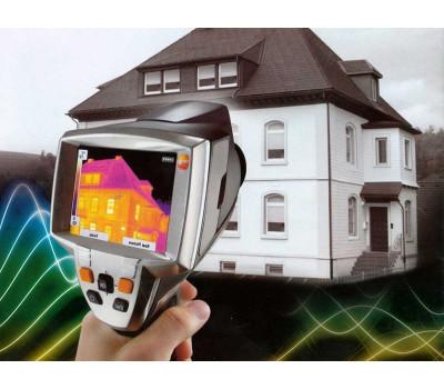 Тепловизионное обследование двухэтажного дома