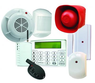 Монтаж системы опопвещения и управления эвакуацией людей при пожаре