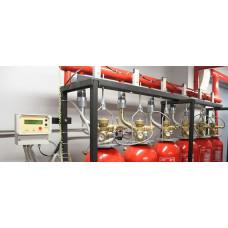 Монтаж системы автоматического пожаротушения
