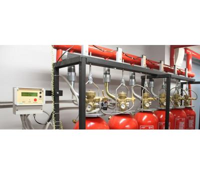 Монтаж системы автоматического управления пожаротушением