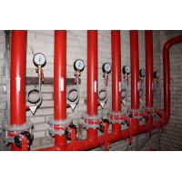 Монтаж внутреннего пожарного водопровода
