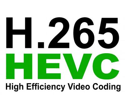Кодек H.265 в видеонаблюдении