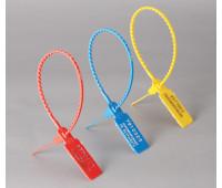 Пломба пластиковая номерная УП-255 (жел, зел)