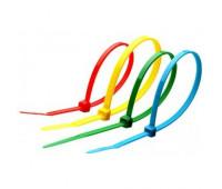 Стяжка нейлоновая КСС 3х100 (син, зел, кр, ж) (100 шт.)