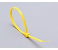 Стяжка нейлоновая КСС 3х100 (жел) (100 шт)