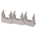 Крепеж клипса d.25 для труб (1 шт)